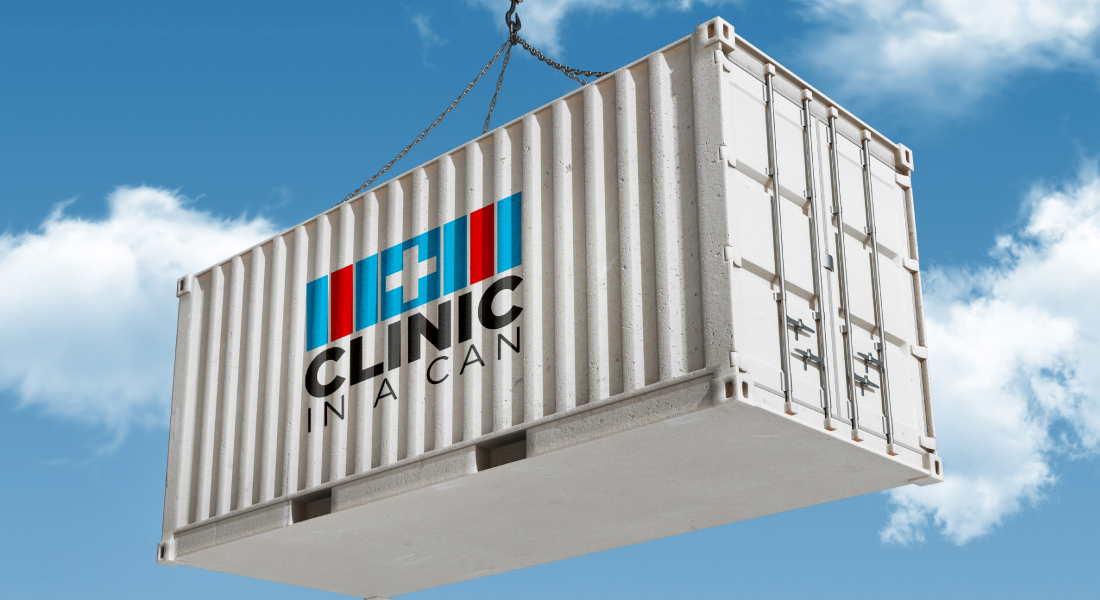 clinic in a can logo design new york wawrzewski