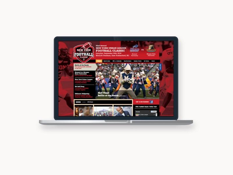kneel, new york urban league, graphic design, website, event design, print, ludlow6, james wawrzewski