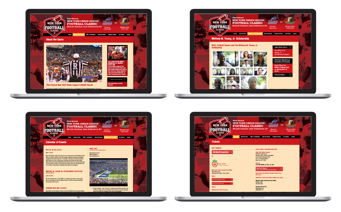 nyul, new york urban league, graphic design, website, web pages, event design, print, ludlow6, james wawrzewski
