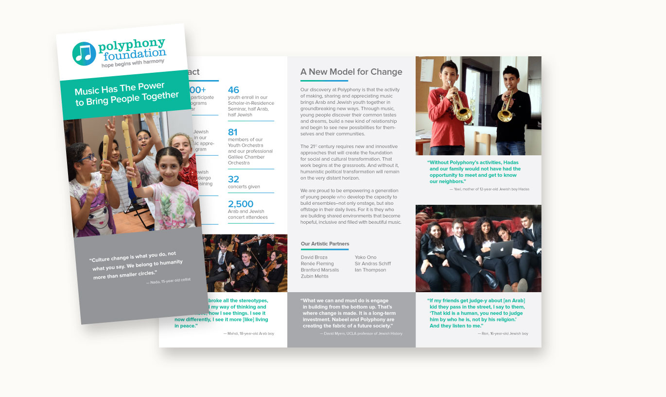 nonprofit, brochure design, branding, brand design, james wawrzewski, ludlow6, new york