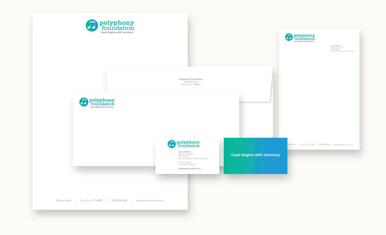 nonprofit, stationery, letterhead, logo design, branding, brand design, james wawrzewski, ludlow6, new york