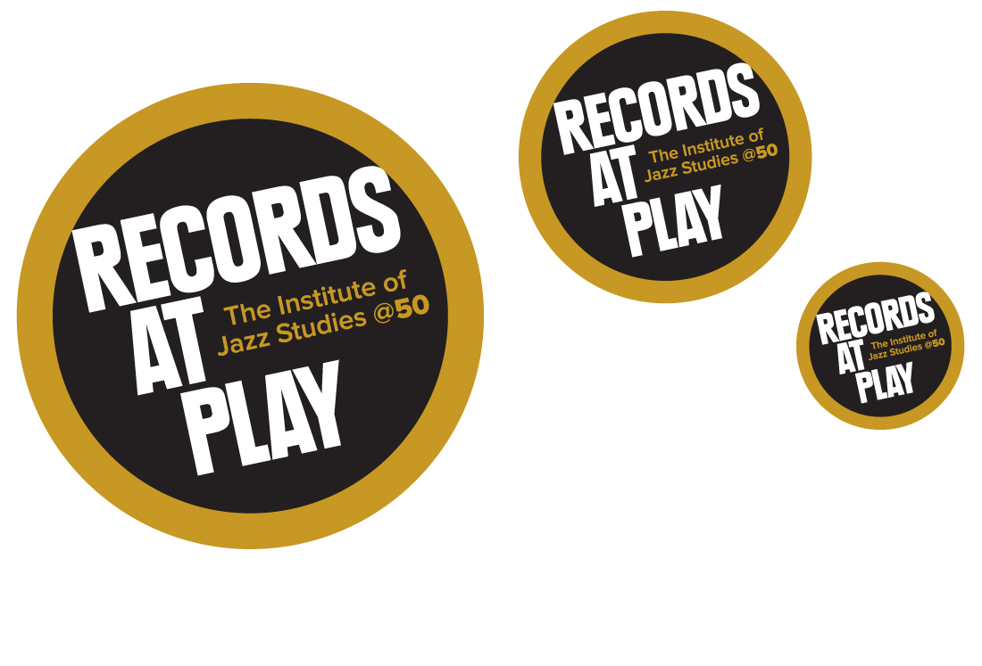 exhibit logos, records at play, ludlow6, rutgers university, james wawrzewski