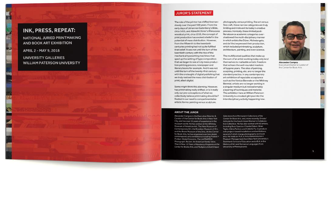 print catalog, university galleries, ludlow6, james wawrzewski