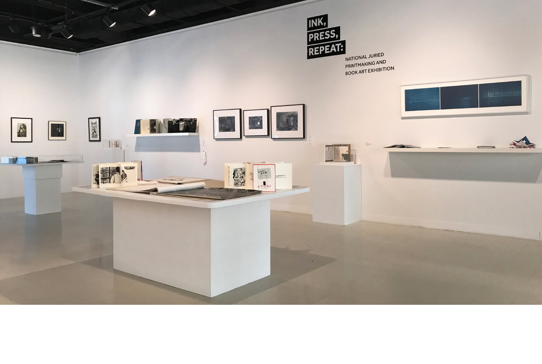william patterson, printmaking exhibition, ludlow6, james wawrzewski, title graphic
