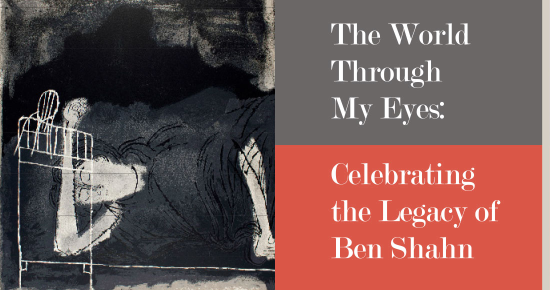 Print catalog Ben Shahn exhibition