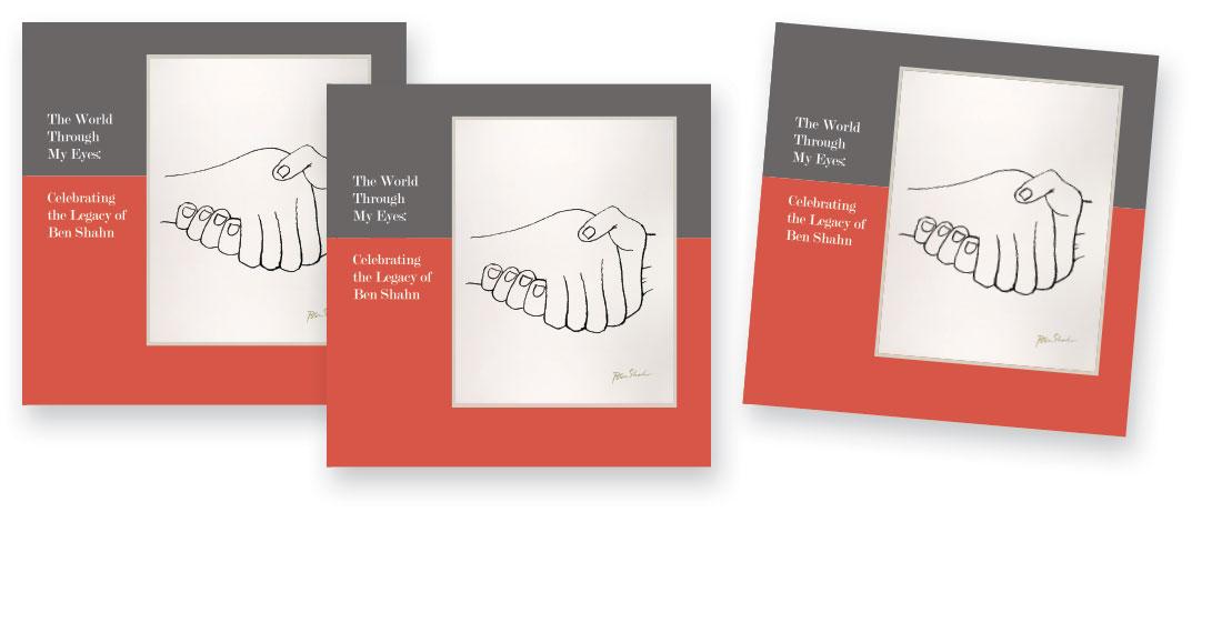 Ben Shahn print catalog for William Paterson University covers
